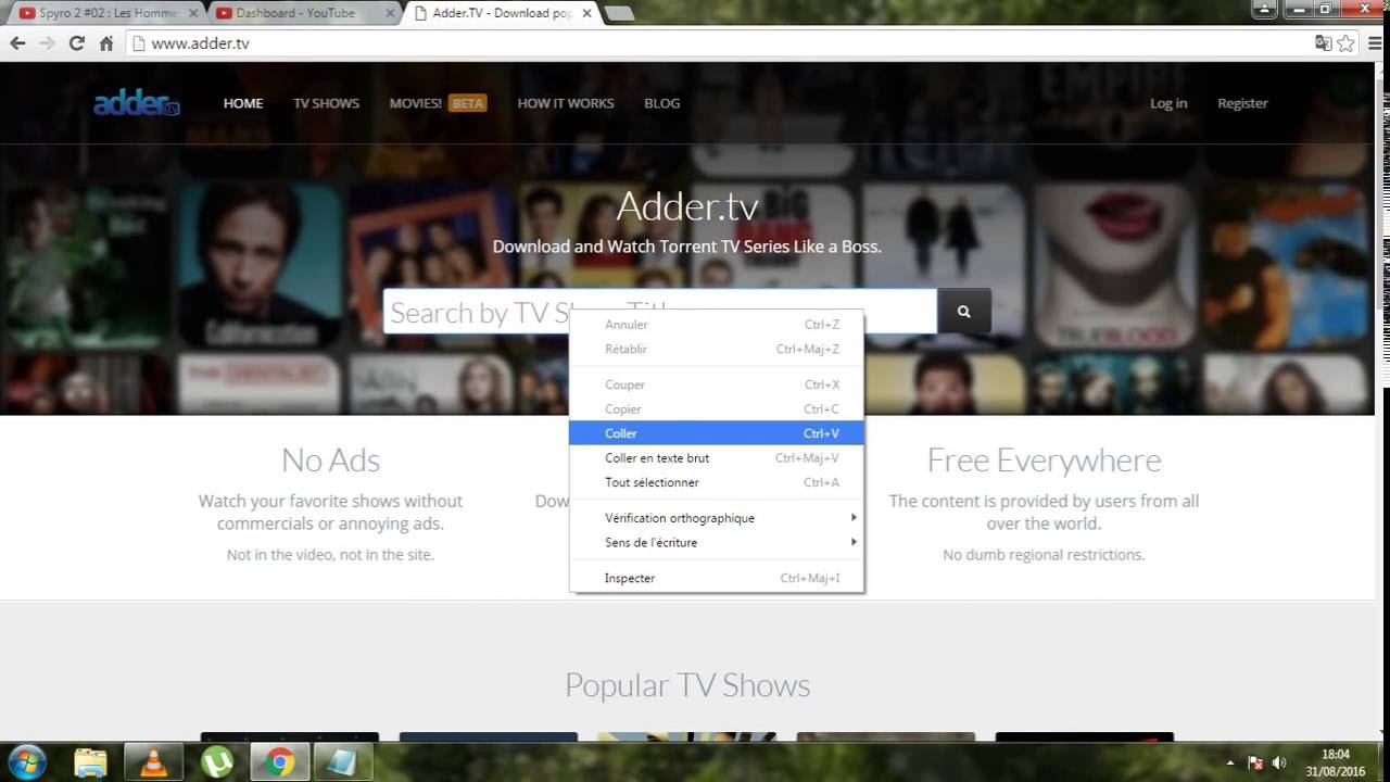 Torrent file download tutorial to download games,movies,tv series.