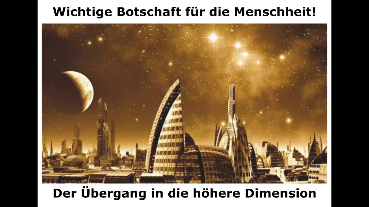 Reise ins Licht - Wichtige Botschaft für d. Menschheit! Übergang in d. höhere Dimension (22.01.2020)