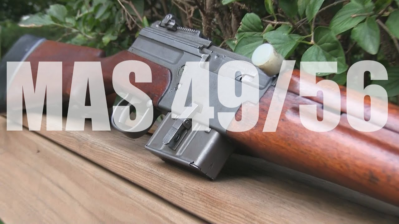 French MAS 49/56 FIRST LOOK