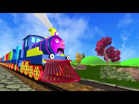 ALPHABET TRAIN | Learn ABCD | Learn Alphabets | Animation Video for Kids
