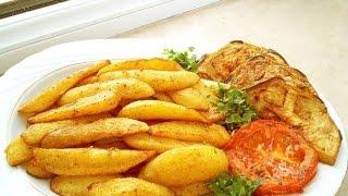 Легкие рецепты от Алини #2 жареная картошка с мясом!!!