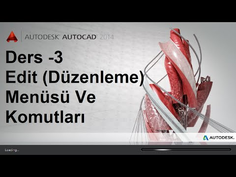 Autocad Eğitim Dersleri Ders 3 Edit Menüsü Ve Edit (Düzenleme Menüsü) Komutları