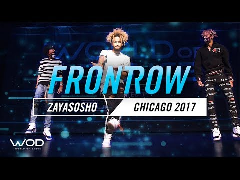 ZayaSosho with Ayo and Teo | FRONTROW | World of Dance Chicago 2017 | #WODCHI17