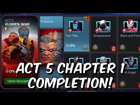 Free To Play Act 5 Chapter 1 2019 - Journey To The Collector Part 1! - Marvel Contest of Champions