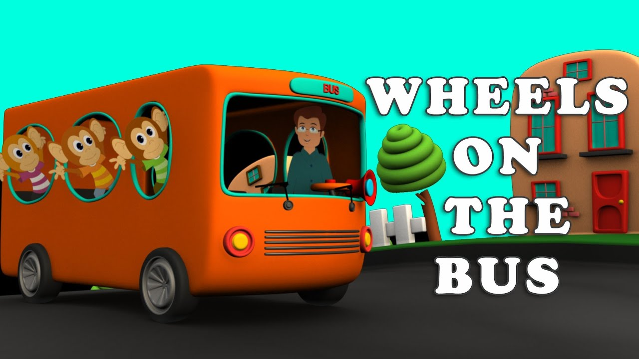 The Wheels On The Bus Go Round And Round Wheels On The Bus Go R...
