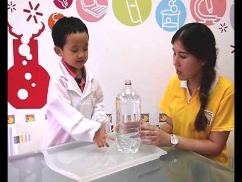 Graceful Hands Super Scientist Experiment Kyle Water Pressure
