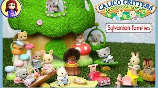 Sylvanian Families Calico Critters Nursery Treehouse Unboxing Review and Play - Kids Toys