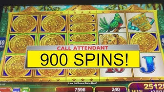 1000x JACKPOT! 900 FREE SPINS MAYAN CHIEF! WIFE DOES IT AGAIN!