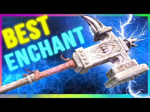 Skyrim Special Edition Best Weapon ENCHANTMENT Location - Champions Cudgel (March Of The Dead)