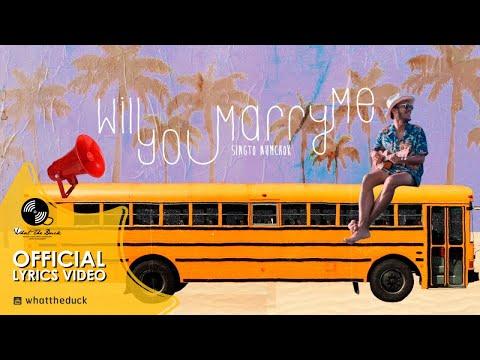 สิงโต นำโชค - Will You Marry Me? [Official Lyrics Video]
