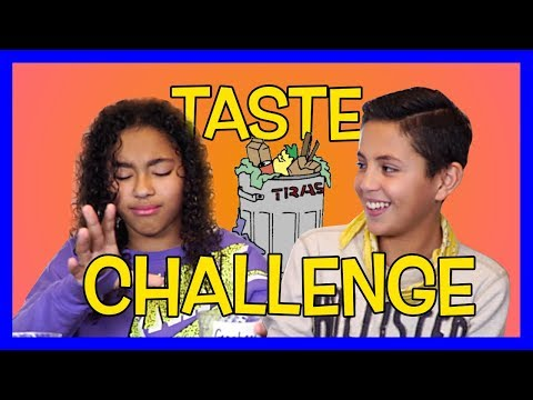Garbage Juice?! Taste Challenge on the Naceur Show!