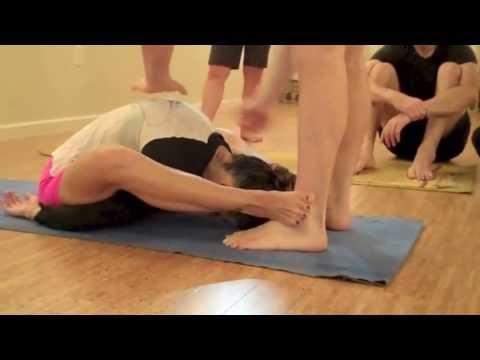 Supta K Assist with David Keil - YouTube