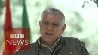 PKK leader: Turkey is protecting IS by attacking Kurds - BBC News