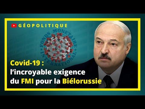 Coronavirus et géopolitique : l'incroyable exigence du FMI pour la Biélorussie - UPR