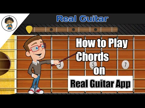 How to play Chords on Real Guitar | By - Mobile Guitarist.