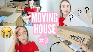 New House Plans, Exciting Deliveries + BAD NEWS About The House | Moving Vlog 3