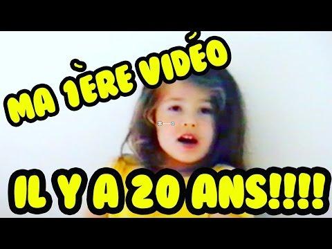 MA TOUTE 1ÈRE VIDÉO!!! IL Y A 20 ANS!!!