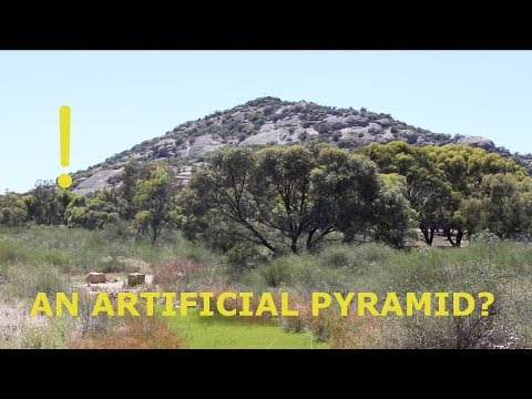 """What is this Huge """"PYRAMID HILL"""" in Outback Australia?!"""