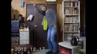 2012年12月17日から12月31日までの眞島竜男の踊り(10倍速)