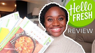 HELLO FRESH REVIEW *NOT SPONSORED* | COOK WITH ME & MEAL REVIEW