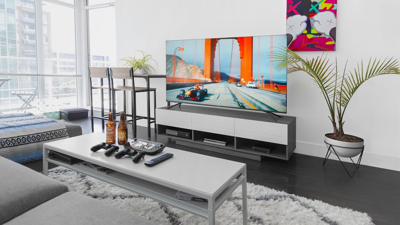 Modern Apartment Living Room Setup 2019