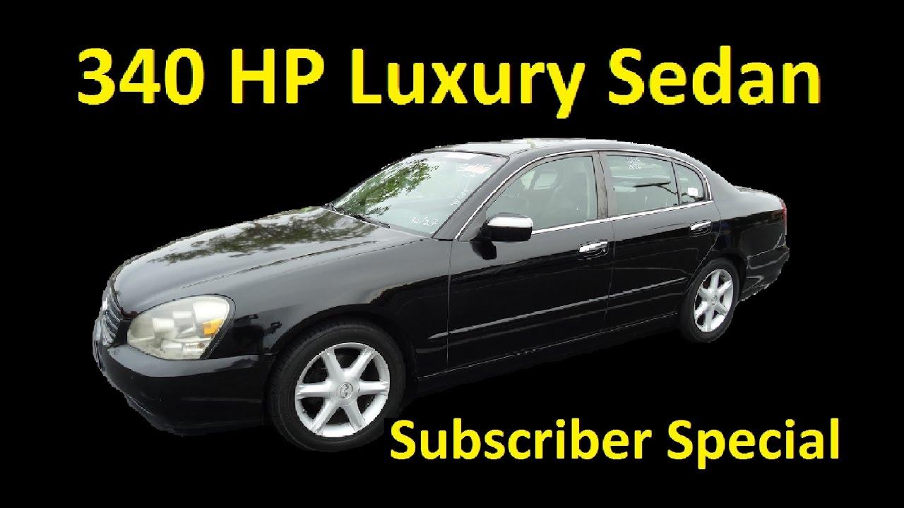 02 infiniti q45 340 hp 25 mpg luxury v8 sedan subscriber special 02 infiniti q45 340 hp 25 mpg luxury v8 sedan subscriber special publicscrutiny Gallery