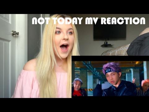 BTS - NOT TODAY MV - REACTION
