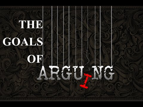 The Goals Of Arguing | Founded In Truth Ministries -  Jason Price