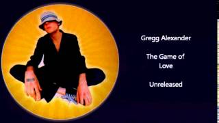 Gregg Alexander (New Radicals) - The Game of Love (unreleased)