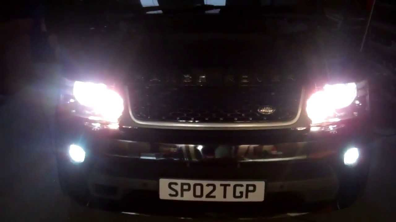 How to fit Osram LED DRL Fog lamp conversion kit to Range