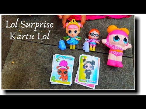 Dapat Kartu Lol Surprise Boneka Lol Mainan Anak Perempuan Blind