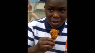 fastest chicken eater