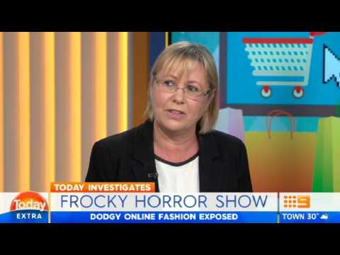 Frocky Horror Show - Bad international online shopping experiences