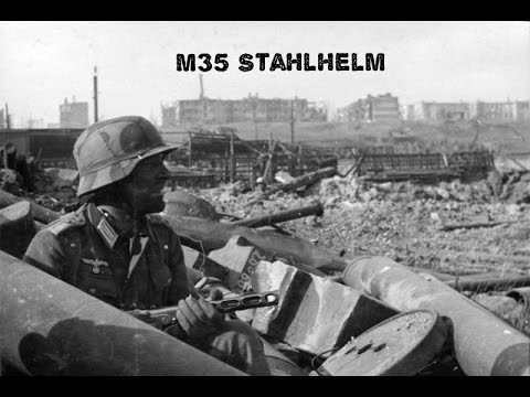 M35 Stahlhelm from Stalingrad