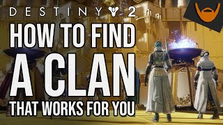 Destiny 2 Clans and How to Join them / Fireteams, Powerful Rewards and more!