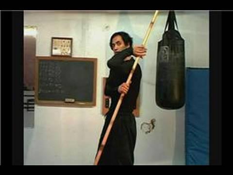Martial Art Bo Staff Techniques : Bo Staff: Jo Technique