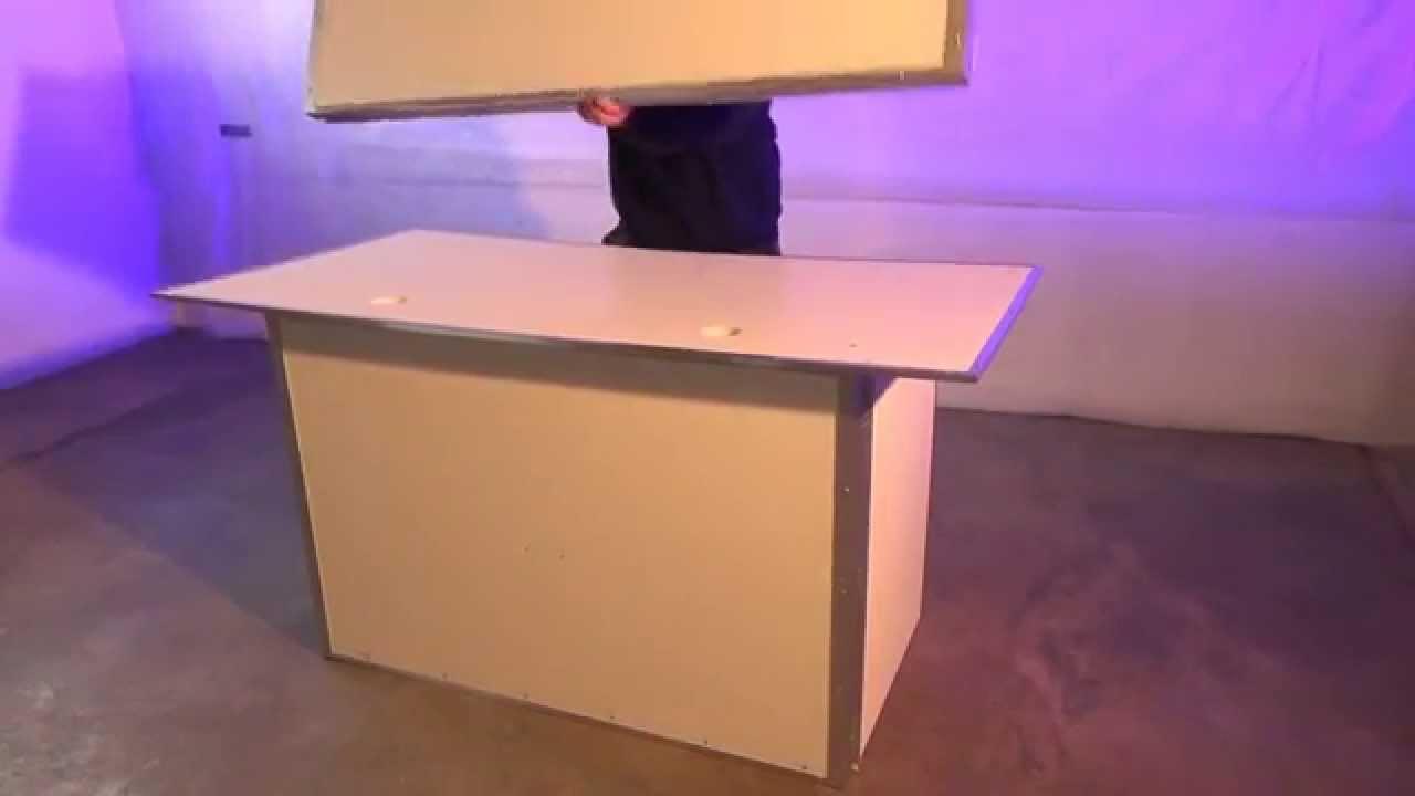 Mobiler Dj Tisch Youtube