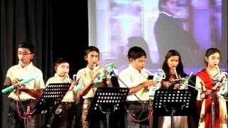 The First Suzuki Melodion Musical Instrumental Concert In India,at Chennai,2011,song; Churaliya He