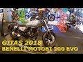 New 2018 Benelli Motobi 200 Evo Cruiser   Detail & Walkaround At 2018 Giias Surabaya