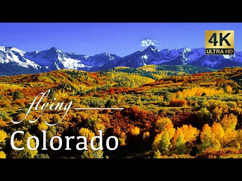 Colorado By Drone - Telluride, Aspen, Ice Lakes, Blue Lakes Trail, & More 4K Travel Footage