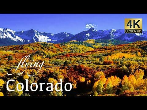 Colorado By Drone - Telluride, Aspen, Silverton, & More 4K Travel Footage