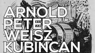 Arnold Peter Weisz-Kubincan: A collection of 153 sketches (HD)