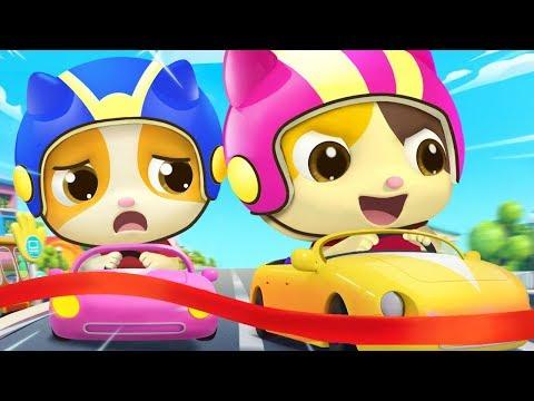 比比誰更快 | 最新學顏色兒歌童謠 | 卡通 | 動畫 | 寶寶巴士 | BabyBus