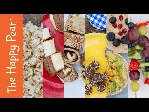 Homemade Snacks for Kids - 6 Healthy Kids Recipe Ideas!