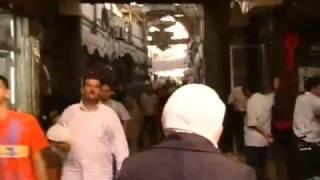 Journal Reporter  In der Altstadt von Damaskus