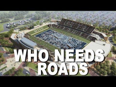 DAM IT: Houston Just Spent $70M On High School Football Stadium, Dams Not So Much