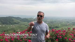 The two 'types' of Prosecco