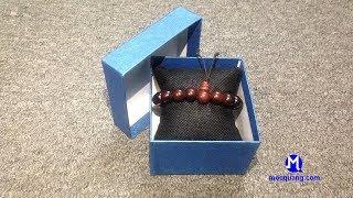 Vòng tay gỗ Trắc 10 li cao cấp | Vòng tay phong thủy cao cấp dành cho nam và nữ