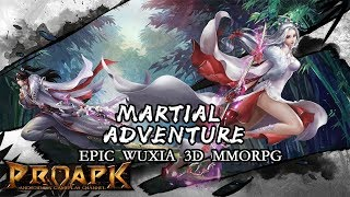 Wuxia Creed Android Gameplay (3D Open World MMORPG)