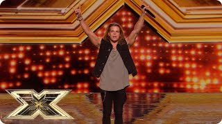 Giovanni Spano is here to rock the Judges! | Auditions Week 3 | The X Factor UK 2018